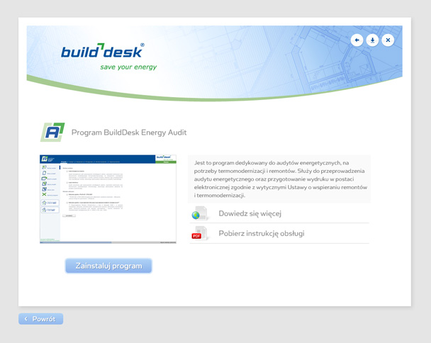 Application cd/dvd for BuildDesk