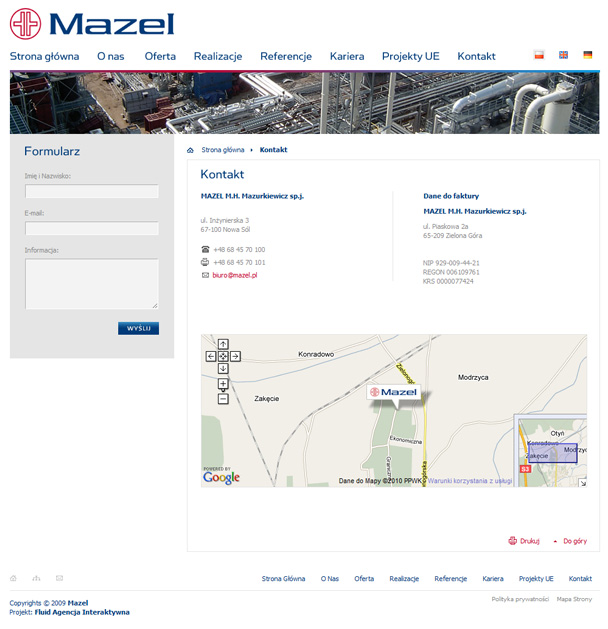 Mazel electrical power engineering