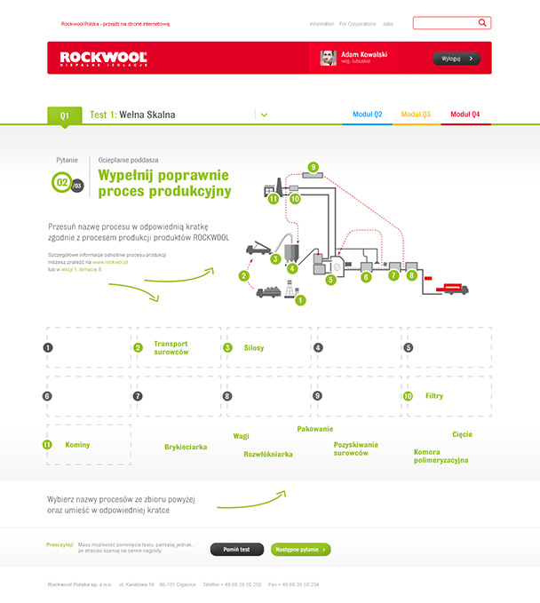 Rockwool e-learning system